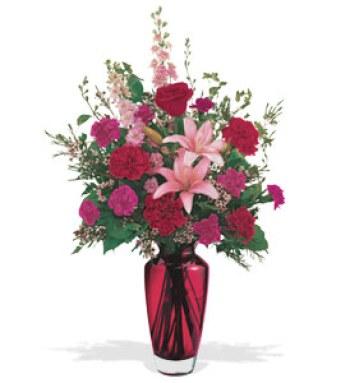 Bouquet d'oeuillet et de lys