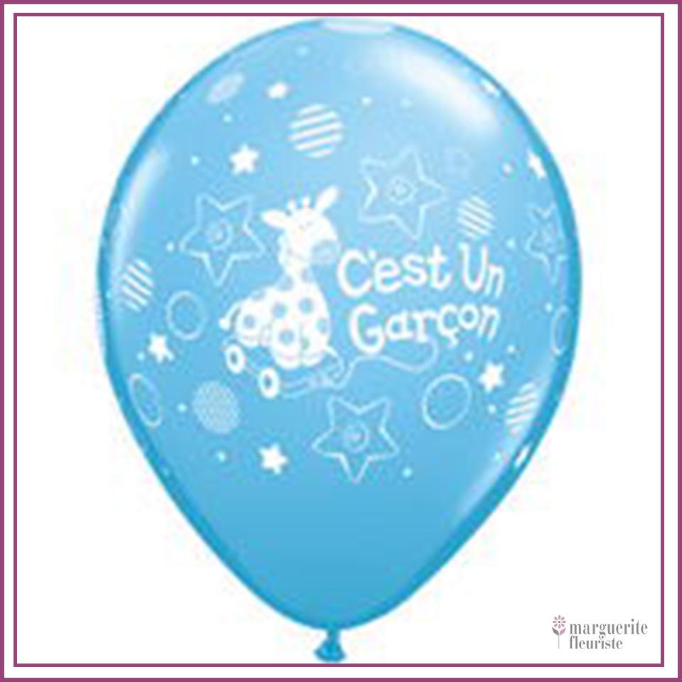 Ballon latex garcon perle 11pouces