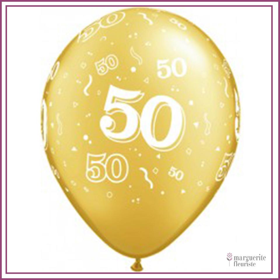 Ballon latex 50 perle 11pouces