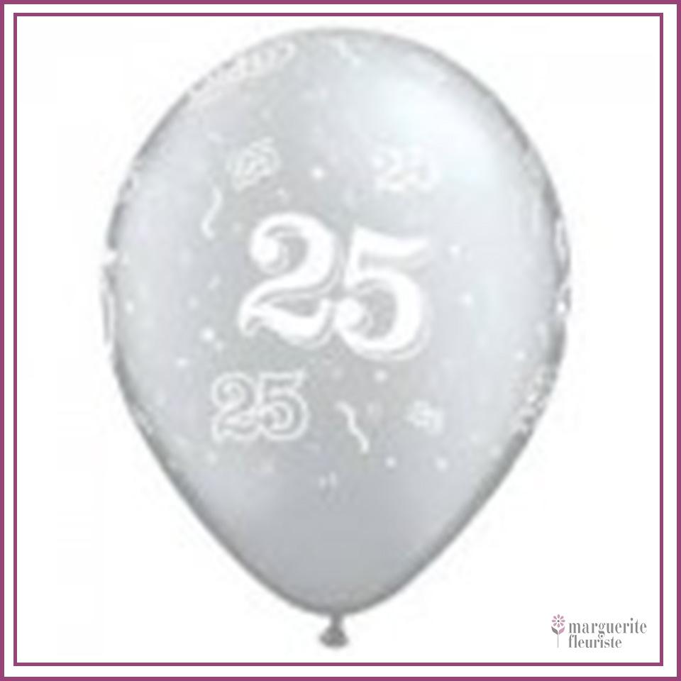 Ballon latex 25 perle 11pouces