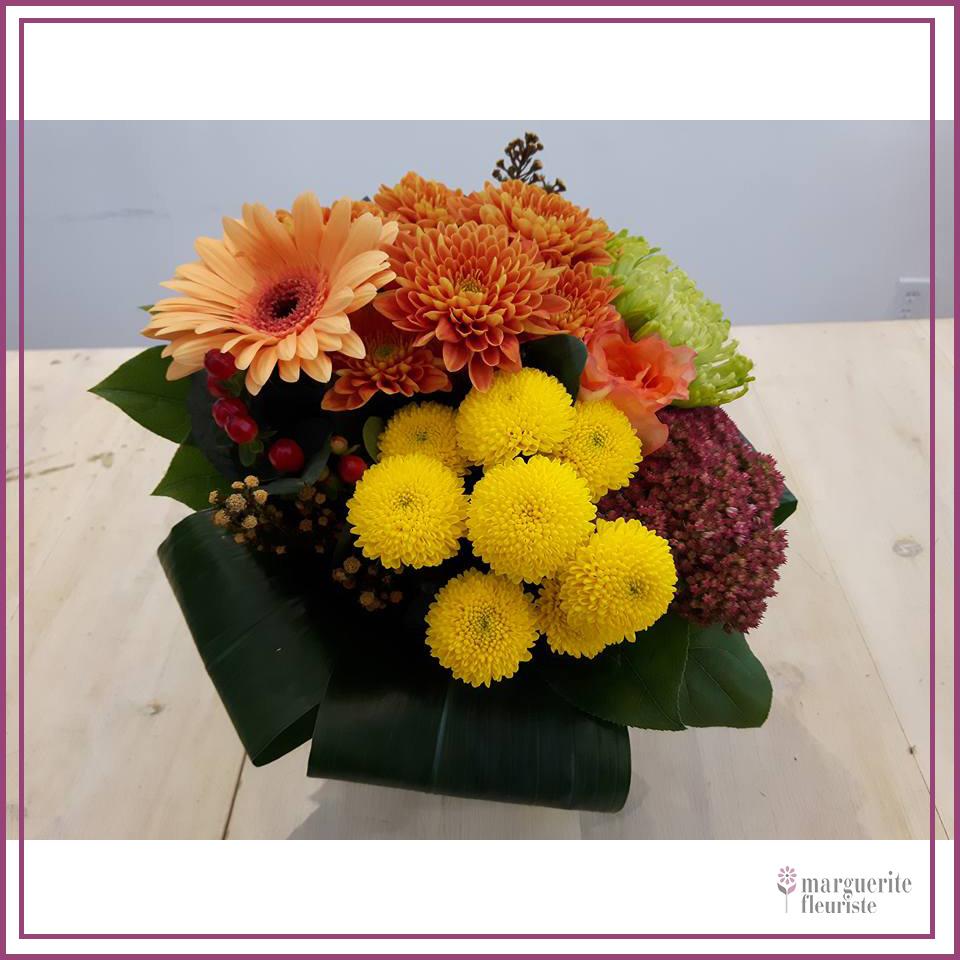 Bouquet de marguerite et gerbera