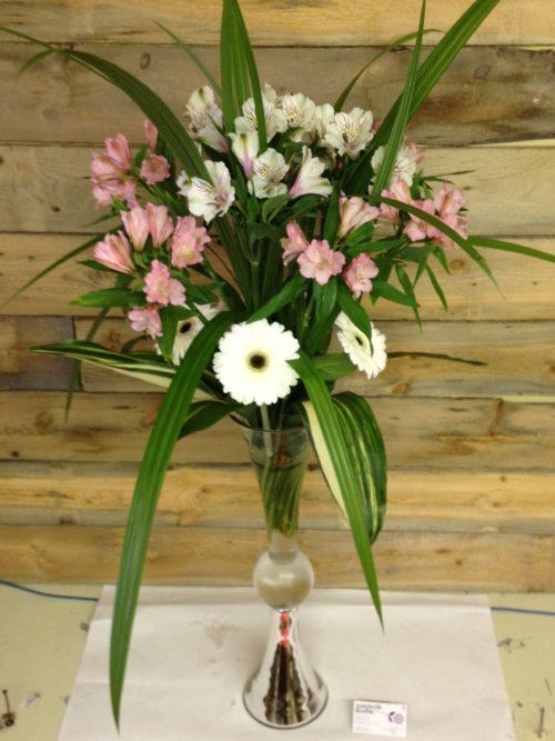 Bouquet d'alstro et de gerbera