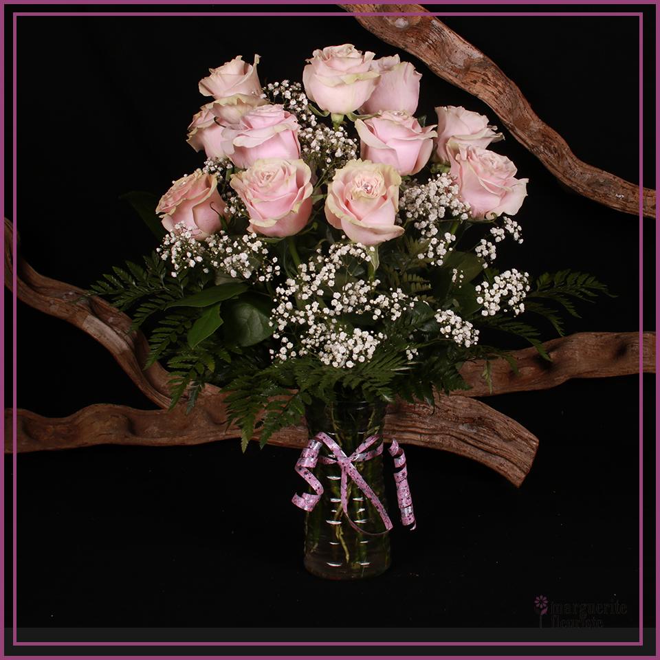 Bouquets de roses roses