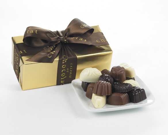Agencement de chocolats 8mcx